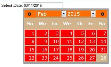 How to Customize JQuery UI Calendar Using JQuery - Ignatiuz