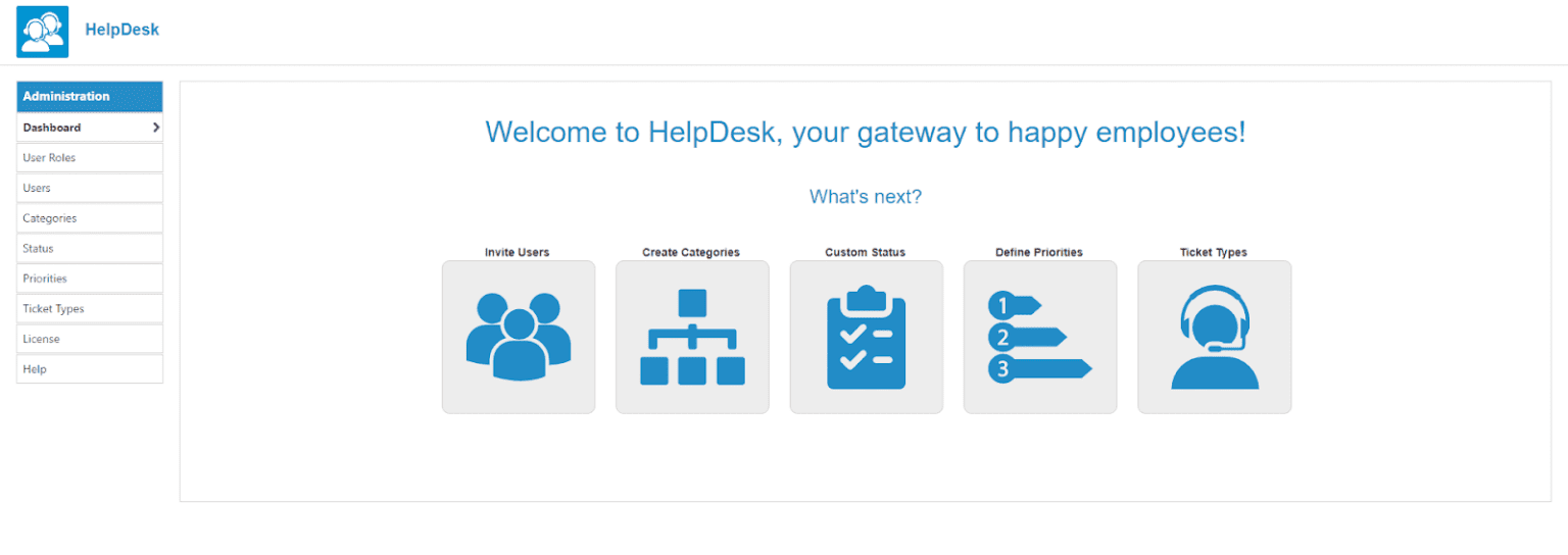 helpdesk administrator