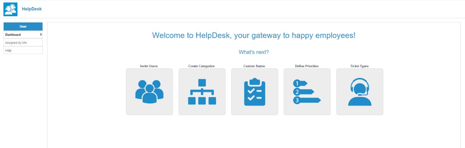 helpdesk user