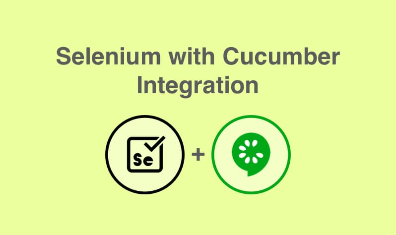 Selenium with Cucumber Integration