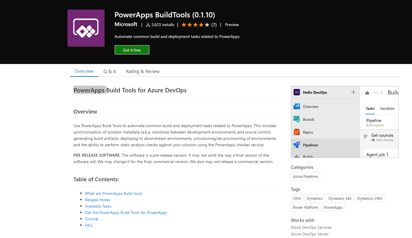 PowerApps-build-tools