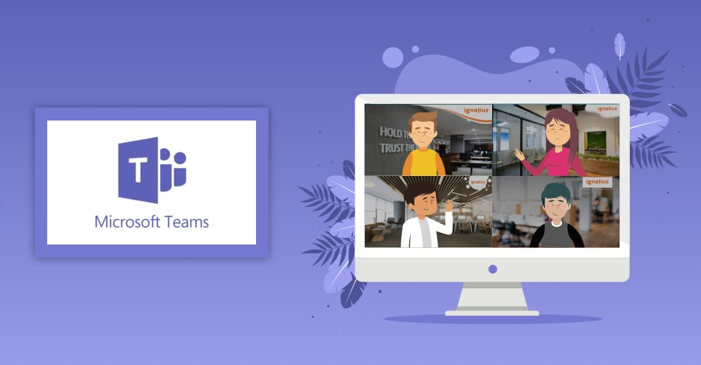 Set Custom background image in MS teams