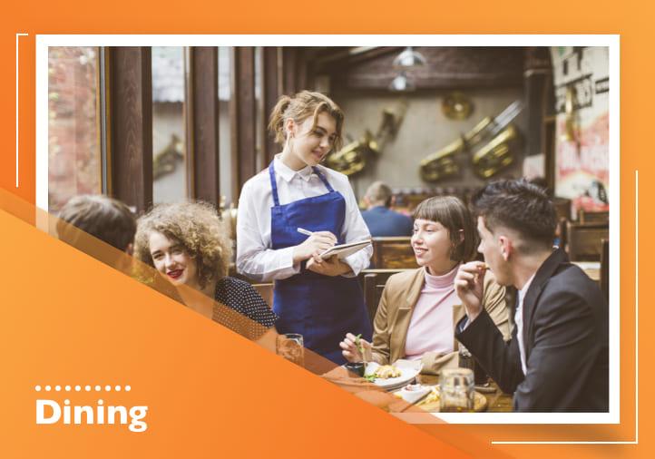 Customer screening in restaurants