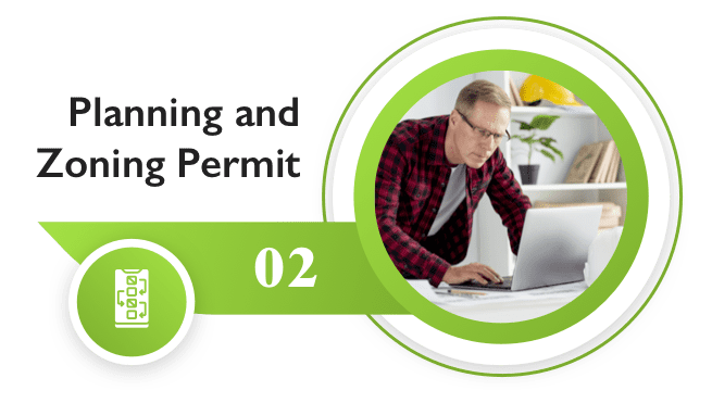 Grant planning and zoning permits online