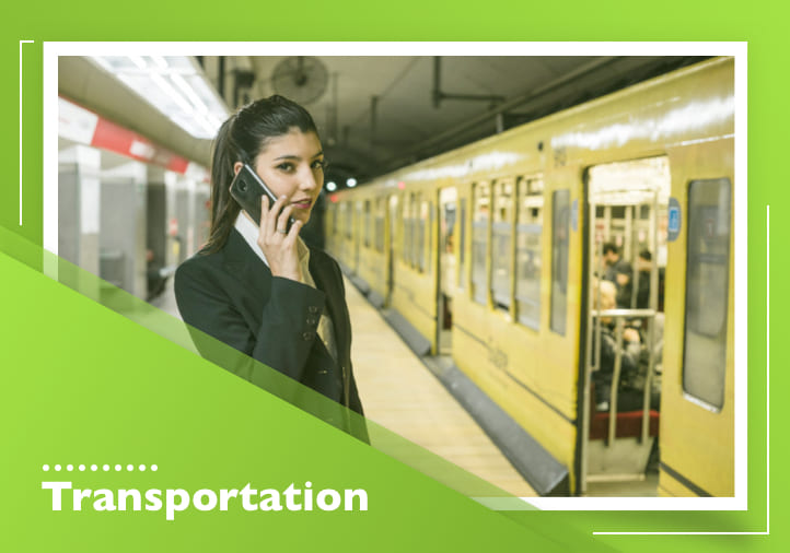 Contactless body temperature screening for public transit services