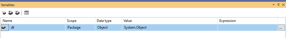 create ssis package