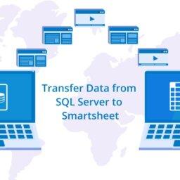 transfer data from sql server to smartsheet