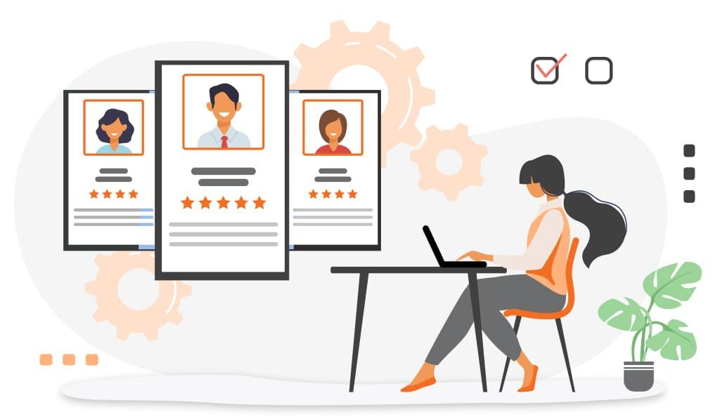 smartsheet recruitment management tracking